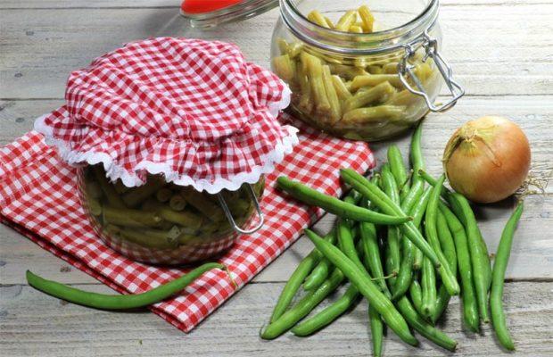 haricots verts fermentés
